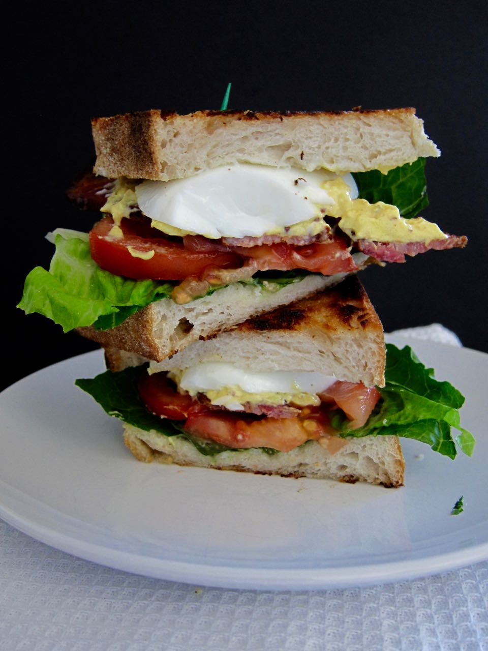 Deviled Egg BLT