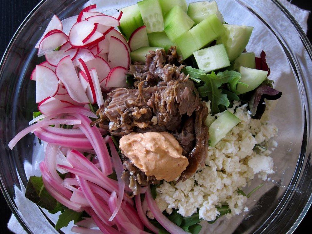mix-ins for lamb salad