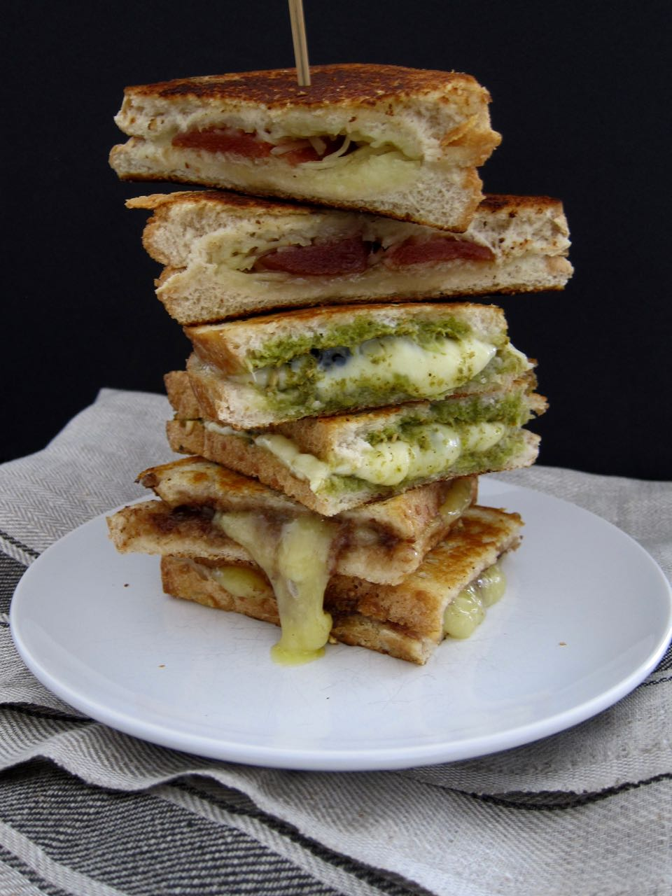Grilled Cheese Trio