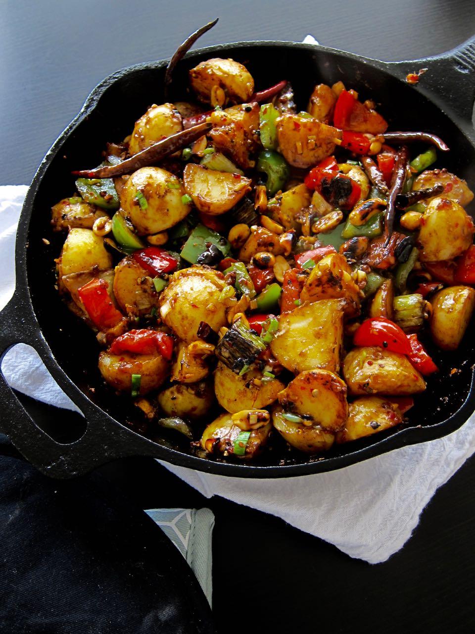 kung pao potatoes
