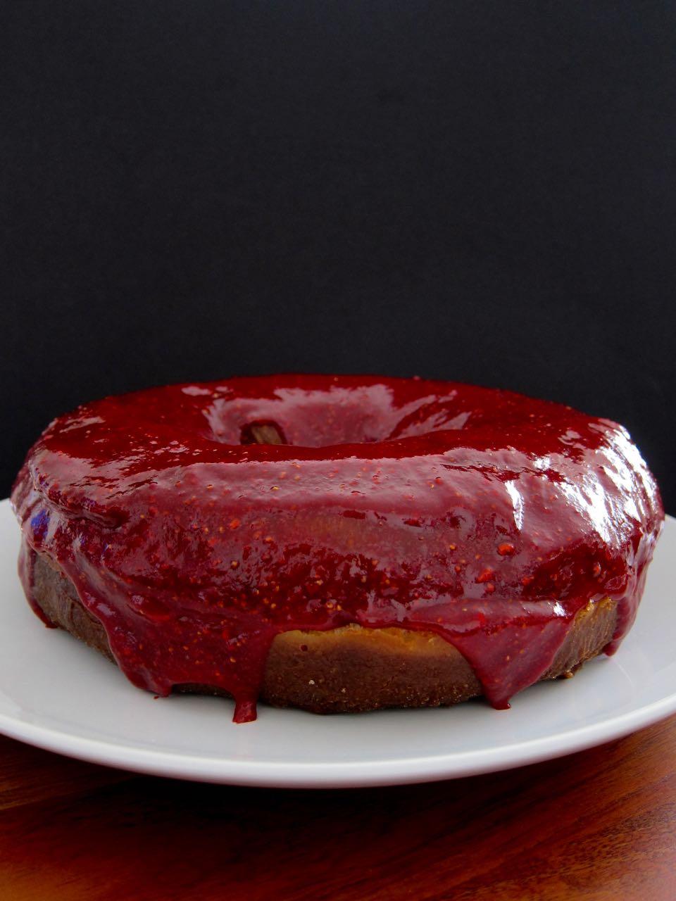 giant doughnut cake