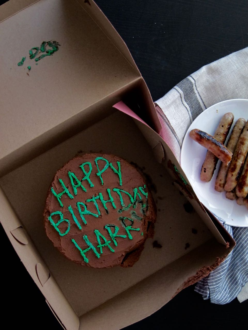 A Birthday Cake For Harry Tea And Fog