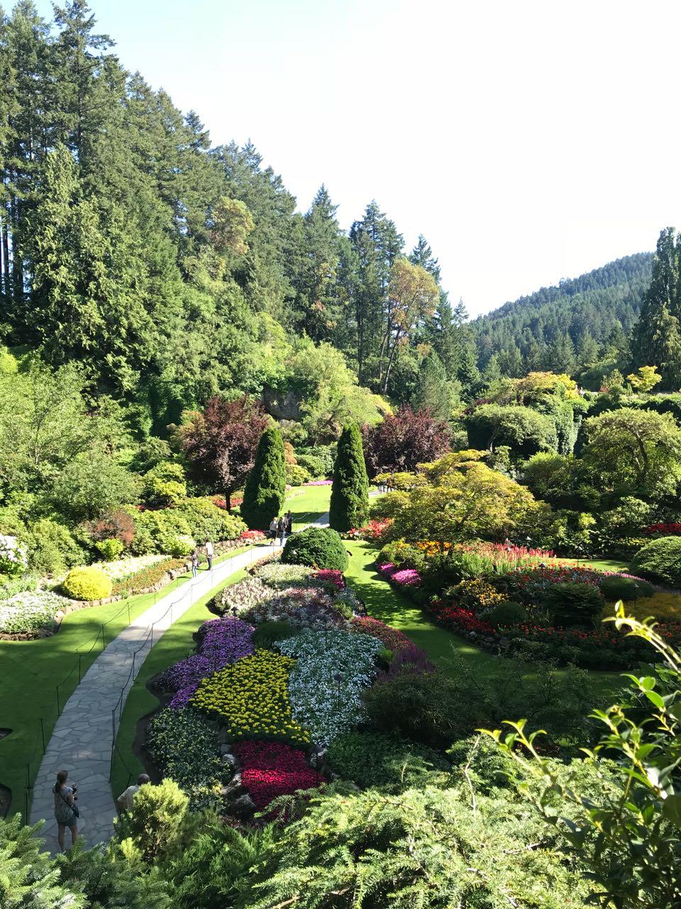 Butchart Sunken Garden