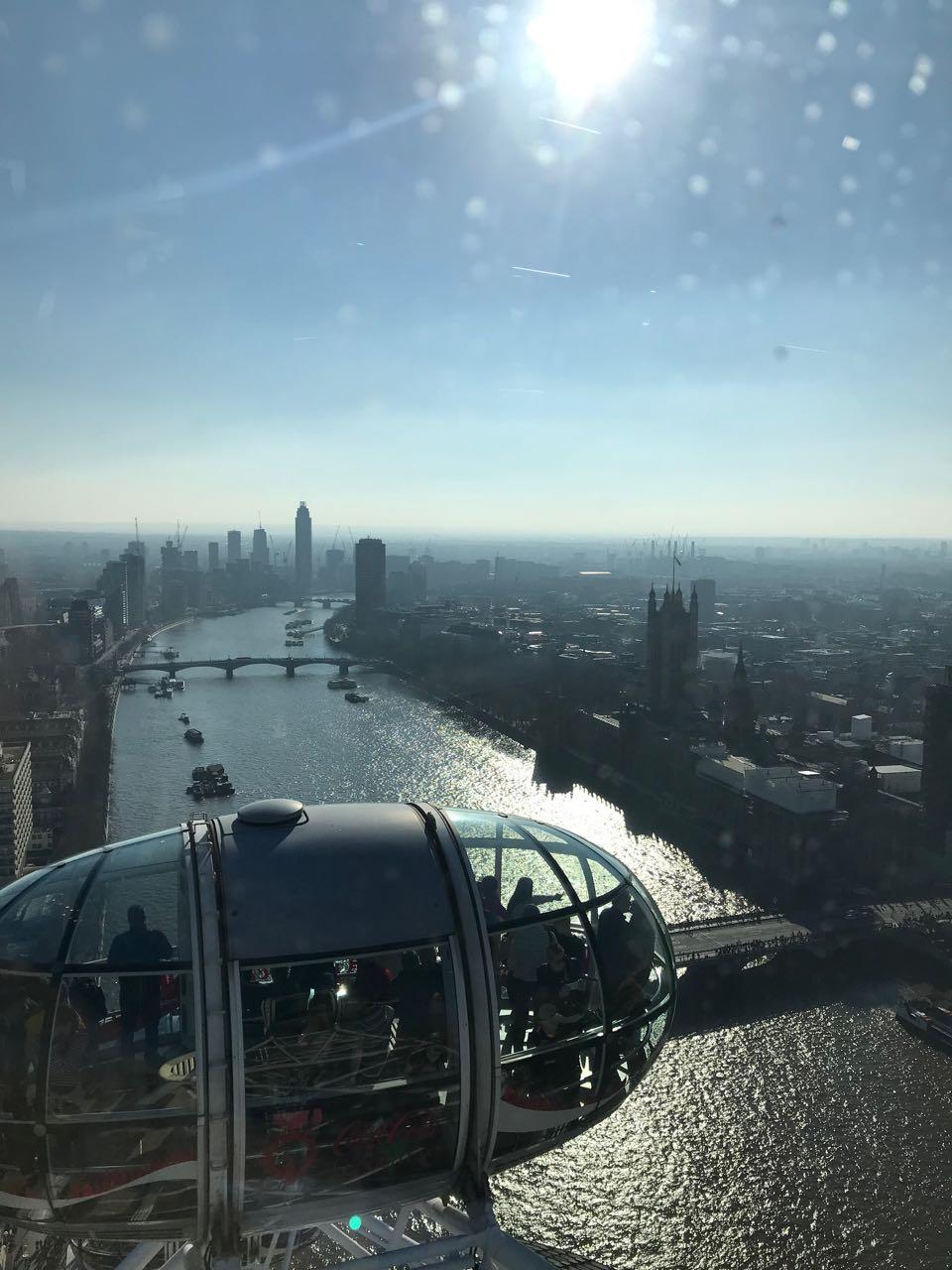 Thames From London Eye