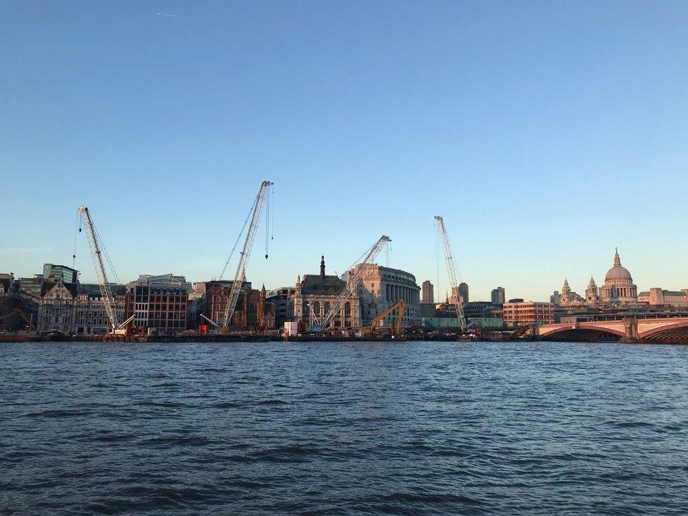 London Construction View