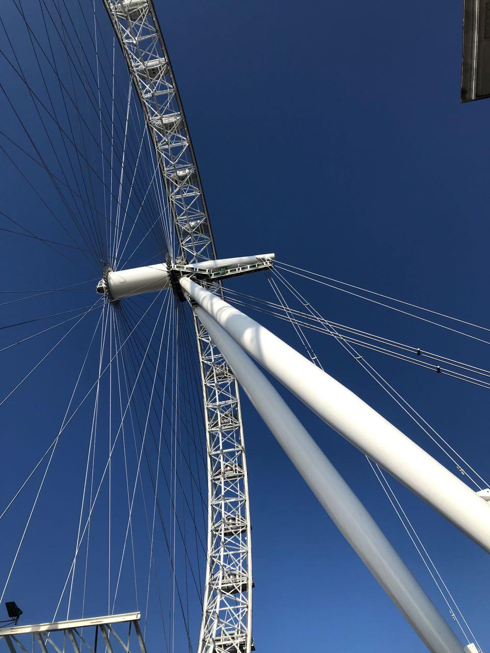 London Eye from Below