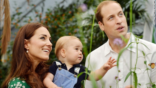 Duchess kate, Prince George and prince william