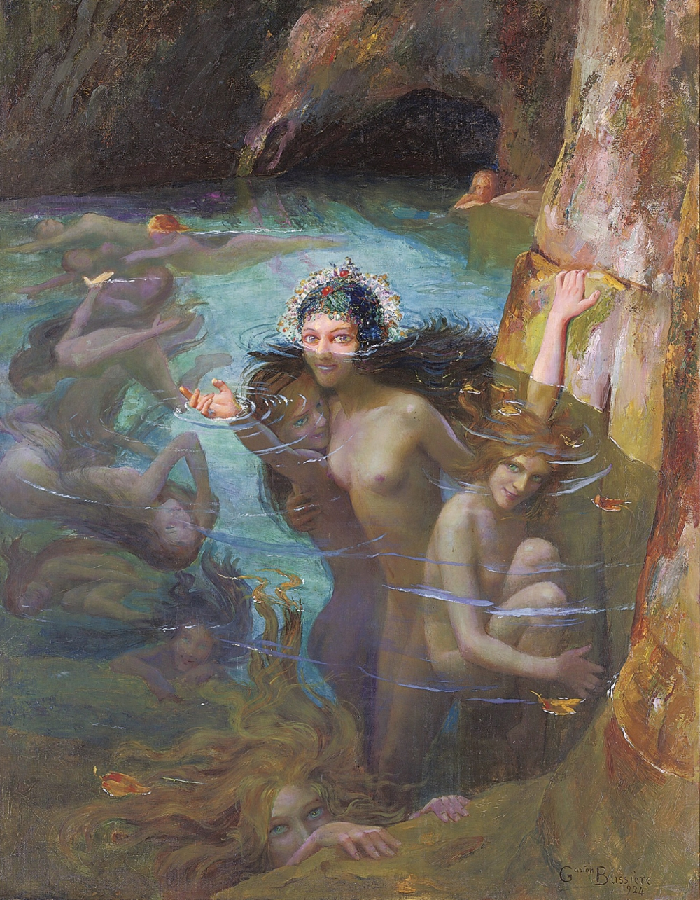 the sea nymphs