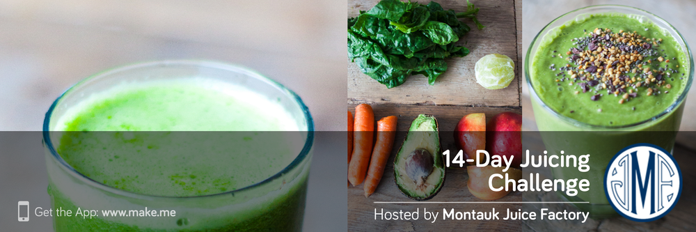 14-Day Juicing Challenge By Montauk Juice Factory