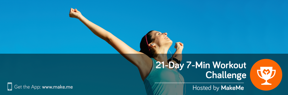 21-Day 7-Min Workout Challenge