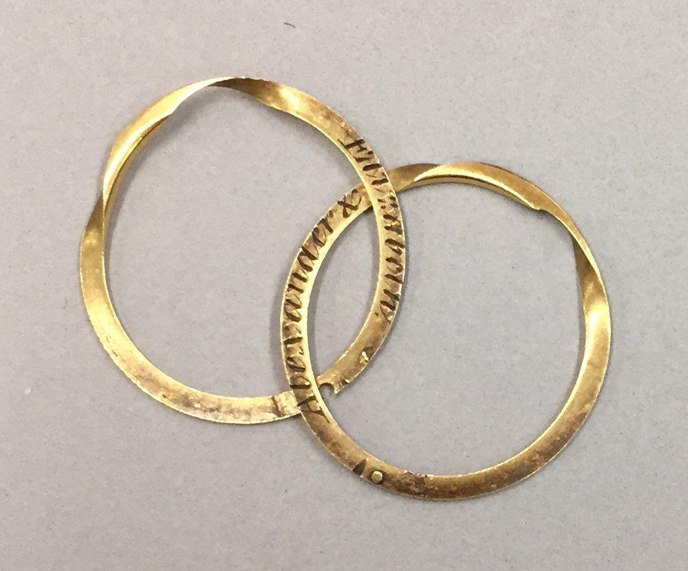 The Wedding Ring That Alexander Hamilton Gave To Elizabeth Schuyler