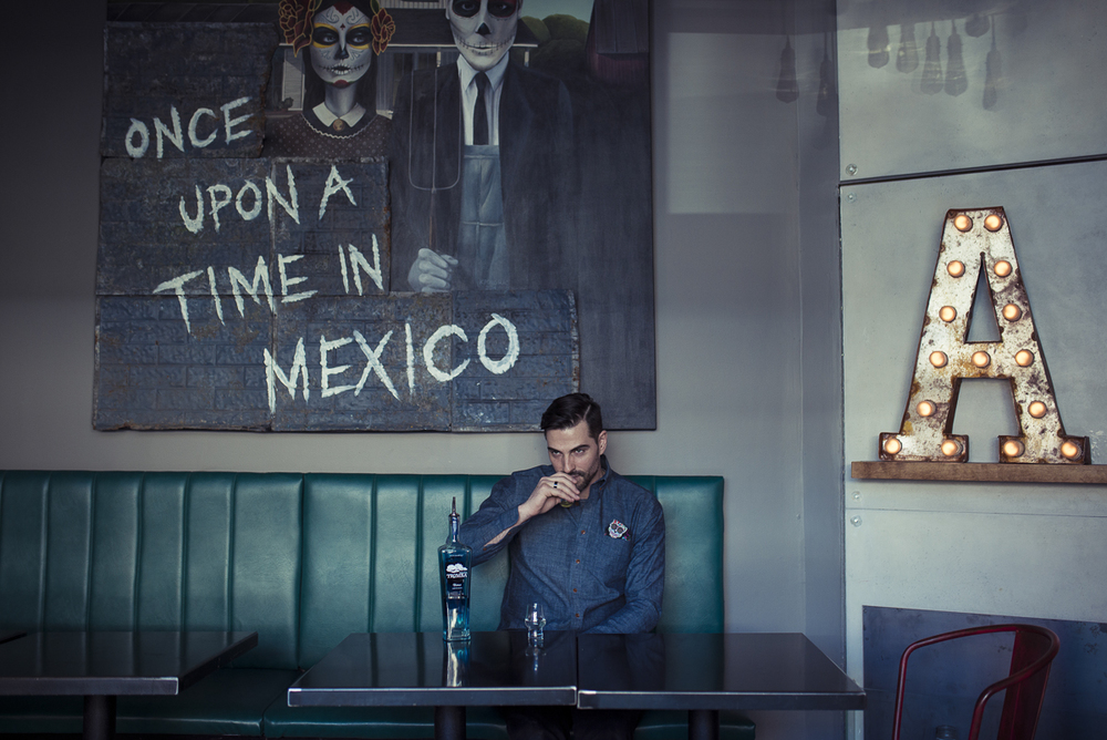 Owner of Ace Mercado, restaurant that specializes in Mexican rooted cuisine, Phil Faubert photographed for Style Magazine in Ottawa.