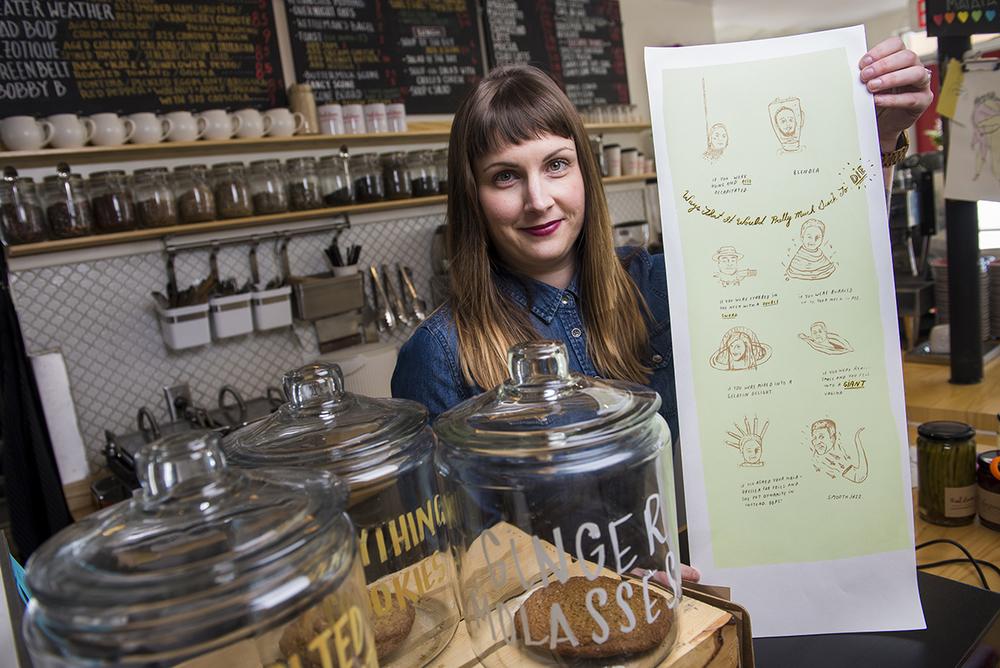 Chef/owner Lauren Power of Red Door Provisions.