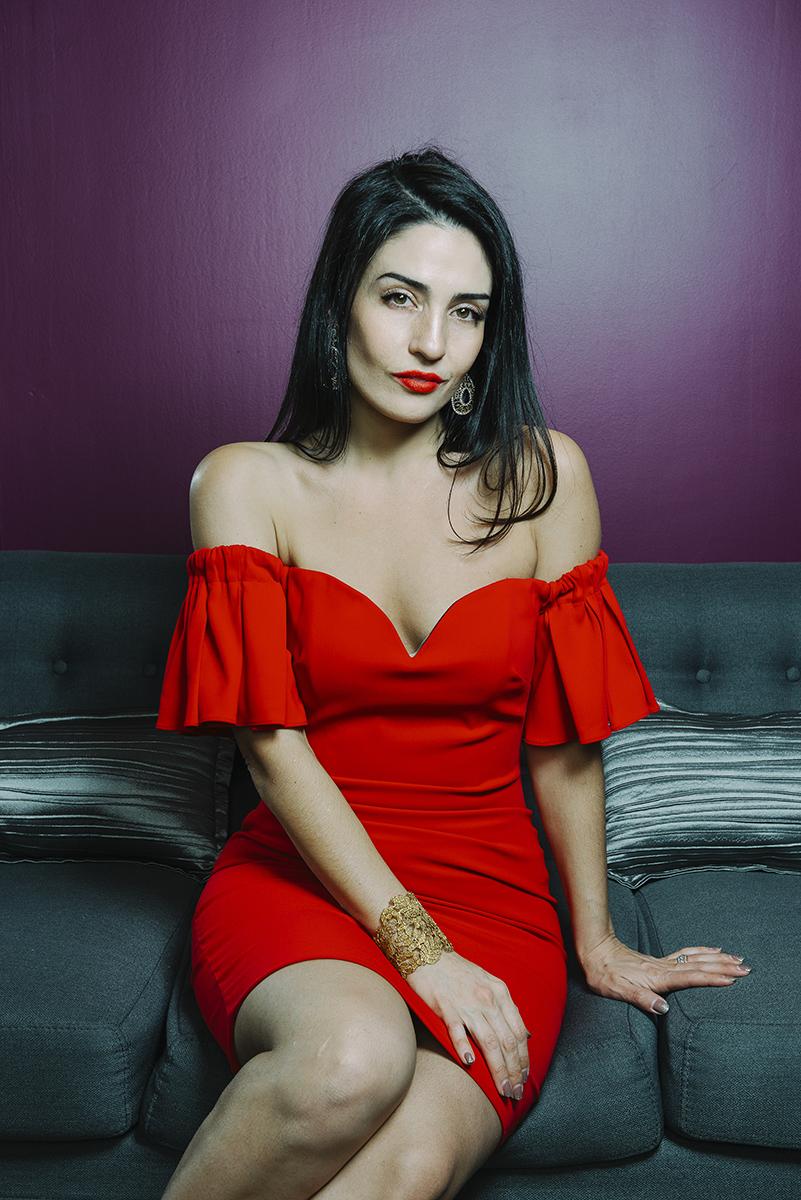 Singer Rebecca Noelle photographed for Ottawa Style magazine (Postmedia).