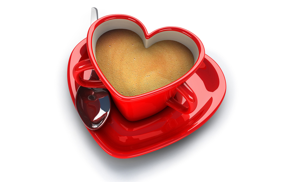 Heart Shaped Coffee Mug
