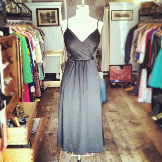 The most amazing LBD dress ever! #vintage 1970's size 4 $80 #antoinettevintage (at Antoinette)