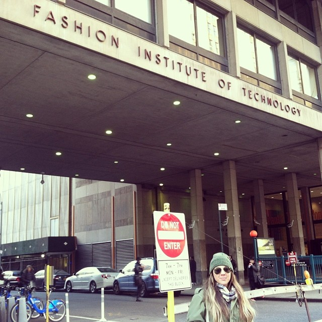 Where the dream started…🙌 (at Fashion Institute of Technology)