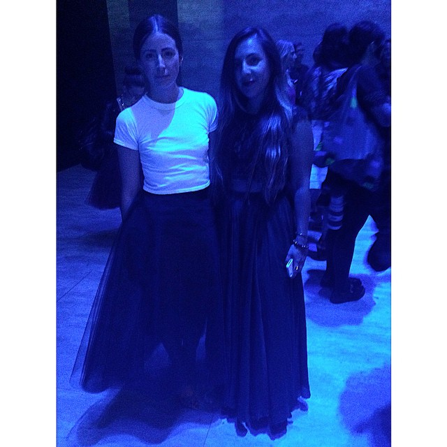 My hot date this evening 🔥🔥🔥  #nyfw #mbfw (at Mercedes-Benz Fashion Week)