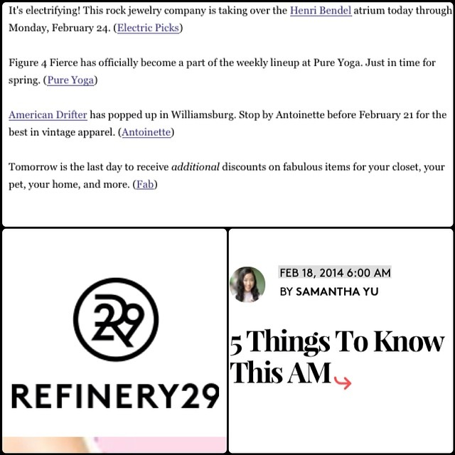 "@refinery29 calling our Pop-Up ""the best vintage apparel"" Yeah! Thanks for the ❤️ guys! #antoinetteXamericandrifter #americandriftervintage #antoinettevintage #refinery29 #5thingstoknowthisam #rocknroam #vintage #popup #brooklyn #williamsburg  (at Antoinette)"