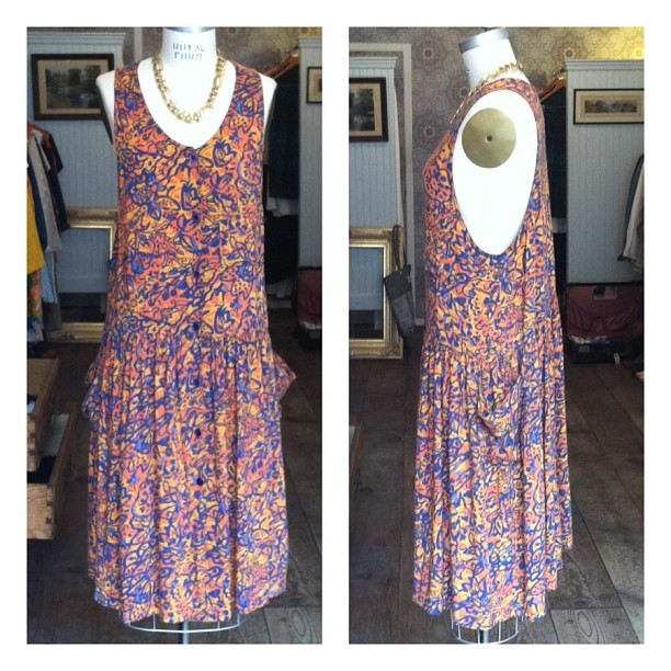 The perfect everything Summer #vintage #Express dress #madeintheusa Size Small to Medium $68 #IStillLoveSideBoob (at Antoinette)