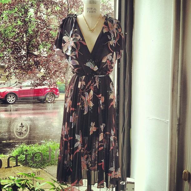 Perfect super sheer #vintage #JackieO! #MadeInCalifornia 1970's dress size S/M $70 #antoinettevintage  (at Antoinette)