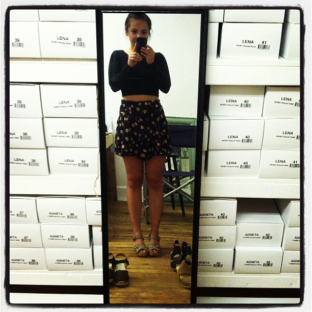Look what's coming to the shop! @ninaznyc #clogs  (at Nina Z HQ)
