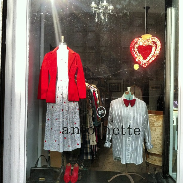 ❤Day window complete! (at Antoinette)