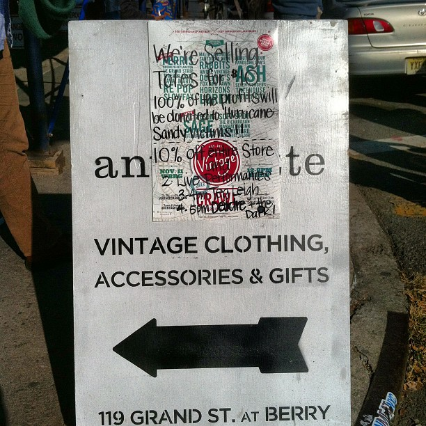 @vintagecrawl is Today! (at Antoinette)
