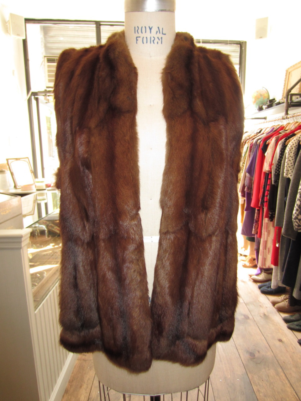 brooklynvintagecrawl :      More From Antoinette:  A Stunning 1950's B. Altman Fur Vest $400