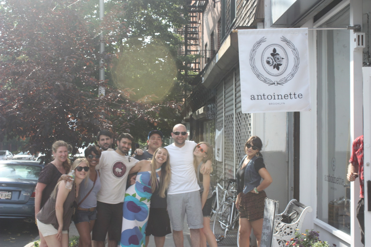 """Thanks again to all of our Antoinette friends for coming out to the """"Welcome Summer"""" Party!"""