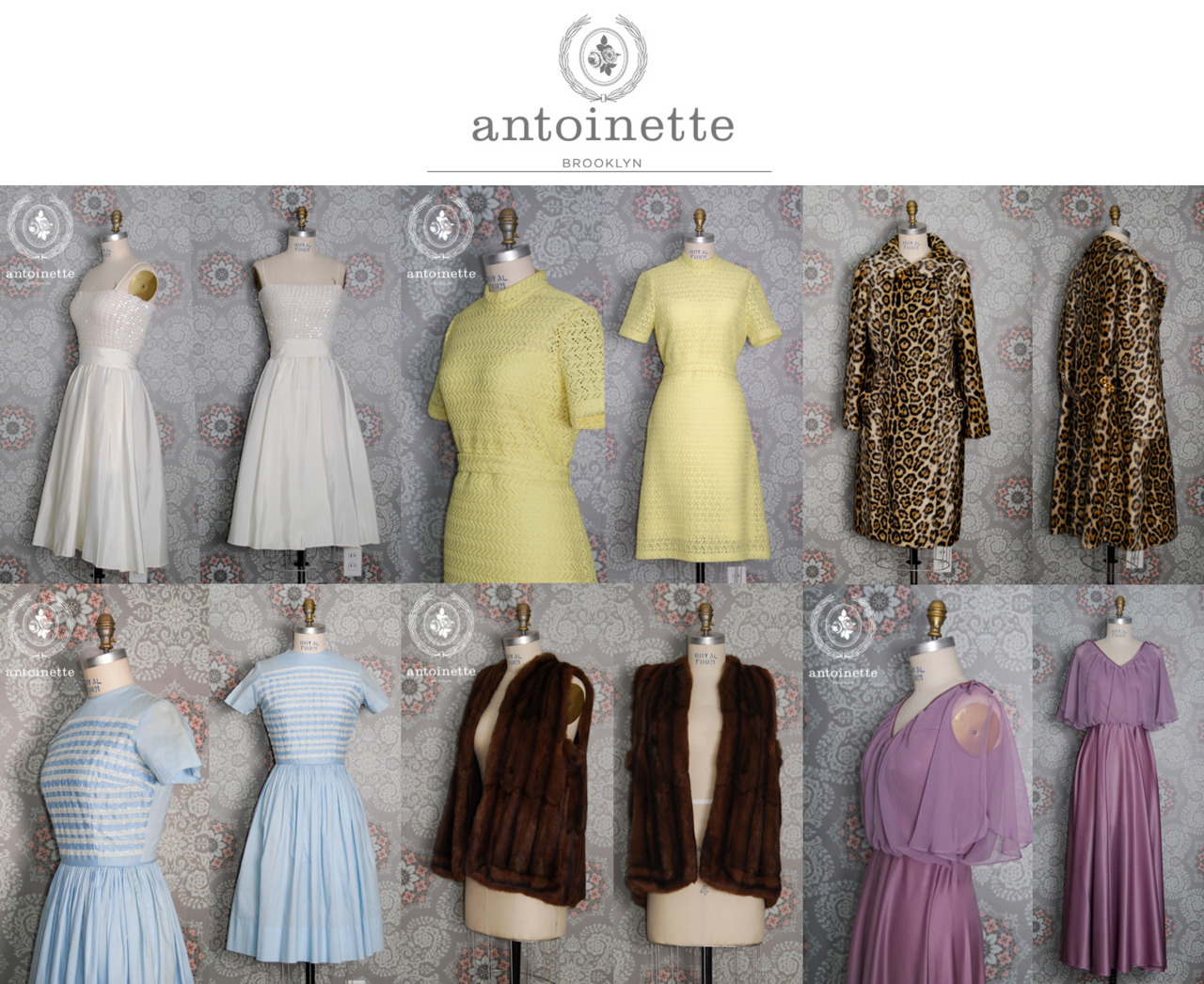 Less than 24 hrs to purchase antoinette pieces on Market Publique   Don't miss your chance to buy some sweet Vintage straight out of Williamsburg Brooklyn!