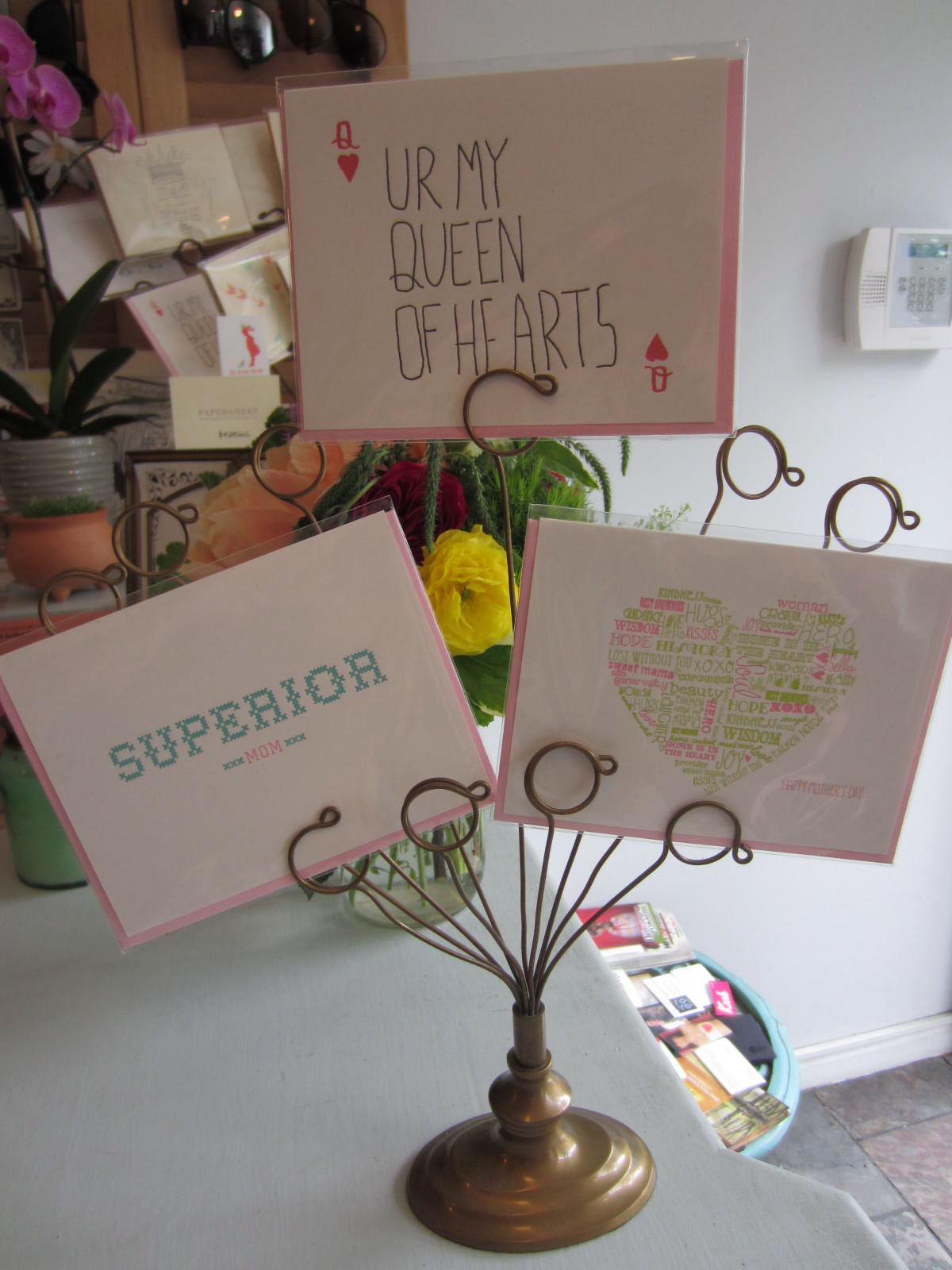 Mother's Day is this Sunday, May 13th!      We have some cards by Ice Cream Social !