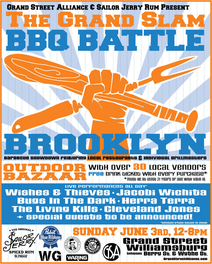 The wait is over Antoinette friends! Today is the The GRAND SLAM - BBQ BATTLE & MUSIC FESTIVAL See you all there!