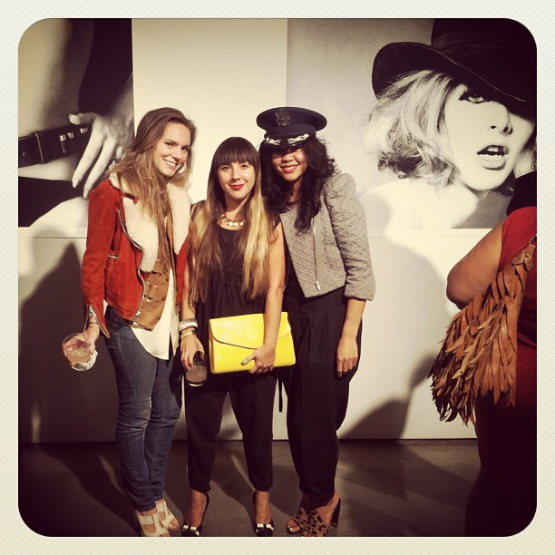 #fashionweek party @sophiecestlavie @irbyk wearing #antoinettebrooklyn (Taken with Instagram at Milk Studios)