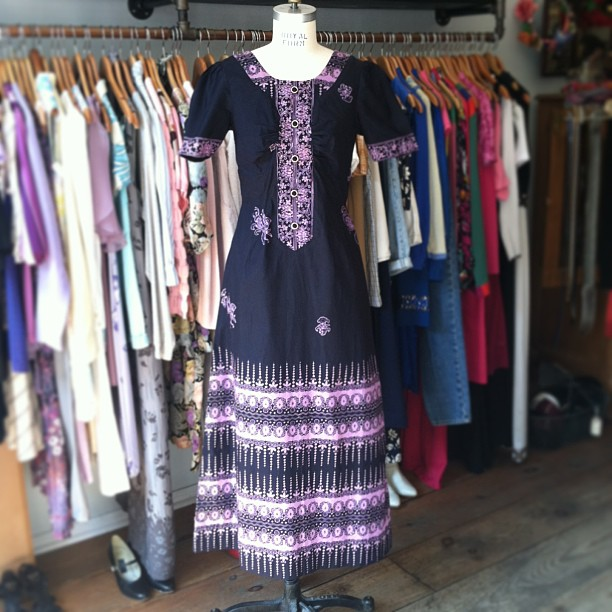Going in the window today! #vintage 1960's dress Size S/M $80 #antoinettevintage  (at Antoinette)