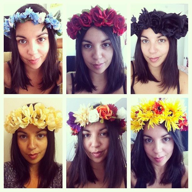 These magical #floralcrownsbyam are the perfect accessory for any vintage outfit & are now available at antoinette! Prices start at $45 & can be customized for any #antoinettebabe ❤ (at Antoinette)