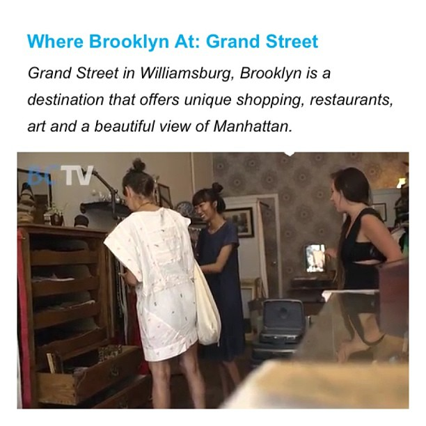 #BCTV showing some ❤ by featuring us Grand St. businesses on their site today!  http://www.barclayscenter.com/bctv/category/series-brooklyn  (at Antoinette)