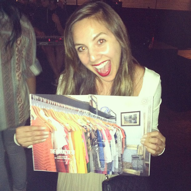 ❤ You @brooklynmagazine ! (at Brooklyn Magazine Party)