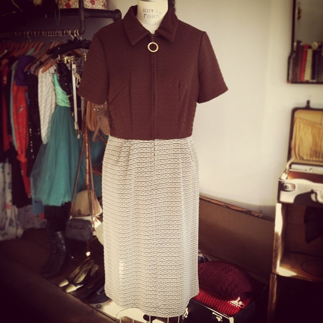 Adorbs #vintage 1960's dress size M-L $68 #antoinettevintage  (at Antoinette)