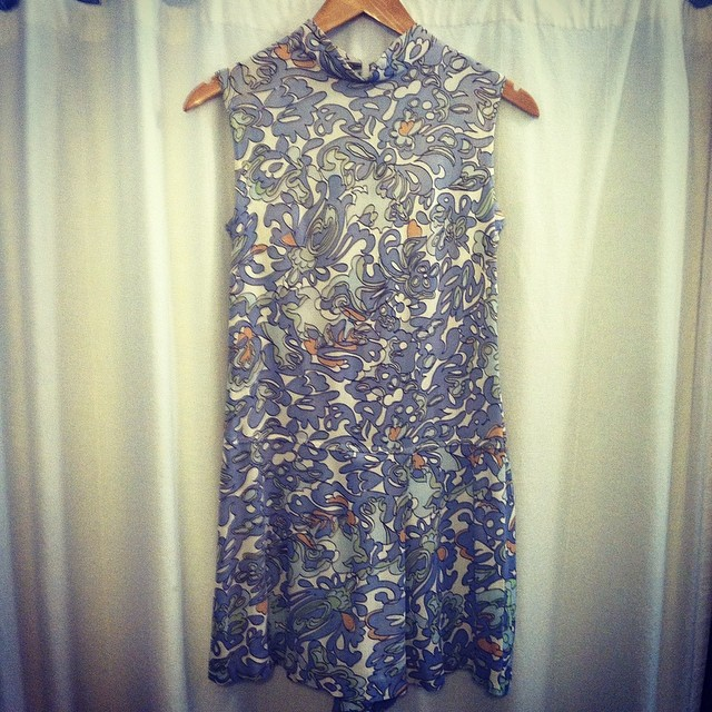 Ending the work week w/this #vintage #1960s romper size S $50 #vintageromper #antoinettevintage #madeinusa #oneofkind #ootd #Williamsburg #brooklyn #thriftandstyle  (at Antoinette)