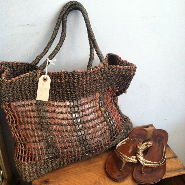 "Some #vintage Summer accessories for your next trip to the beach -Bag $30, Sandals (wedge heel 1.5"") size 6.5 $45 🌊☀️#shoesdaytuesday #antoinettevintage #1990s #1980s #madeinusa #oneofakind #summerstyle #williamsburg #brooklyn #summer #beach #thriftandstyle  (at Antoinette)"