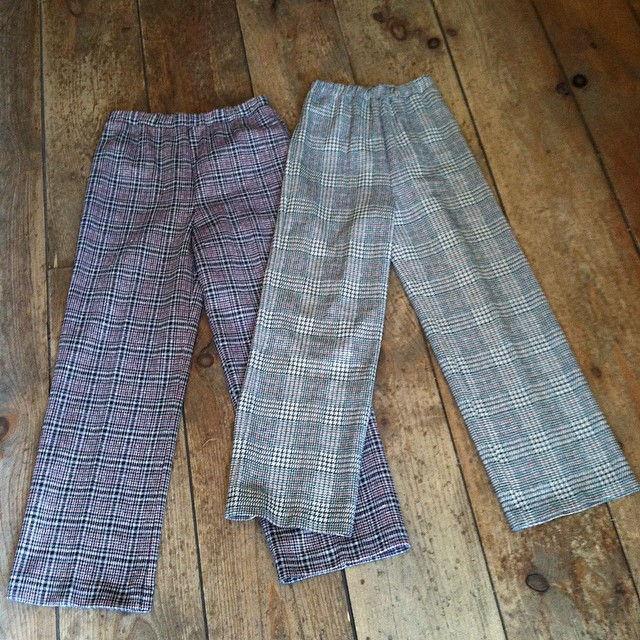 #NoFilter needed to capture the plaid beauty on these #vintage #1960s pants by #SearsRoebuck $40/$48   #antoinettevintage #madeinusa #oneofakind #ootd #vintagepants #williamsburg #brooklyn #thriftandstyle  (at Antoinette)