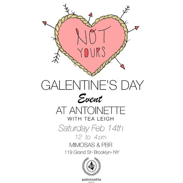 Stop by the shop next Saturday for our Galentine's Day event! Hosted by @tealeigh ! Shop our new PreSpring #vintage collection while sipping on mimosas & beer! 🎨🍺🏦 (at Antoinette)