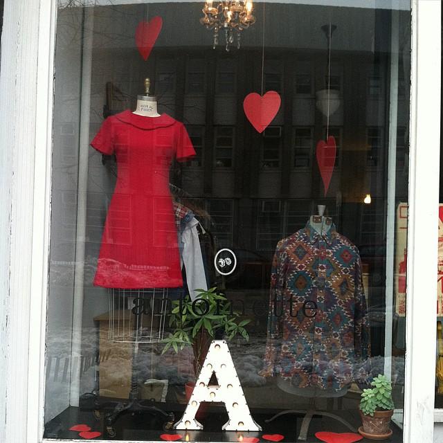 February window 💌💋❤️ (at Antoinette)