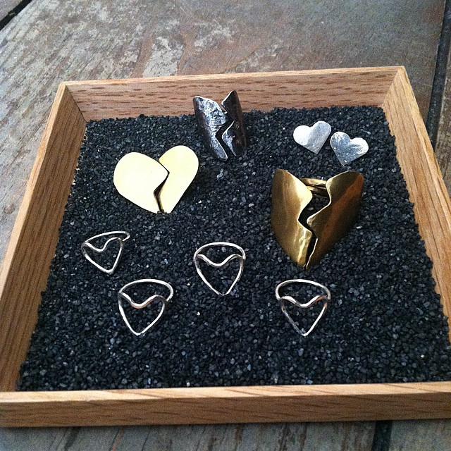 This box of heart shapes is the one we want for Valentine's Day  😍 Tap for designers ✨  (at Antoinette)