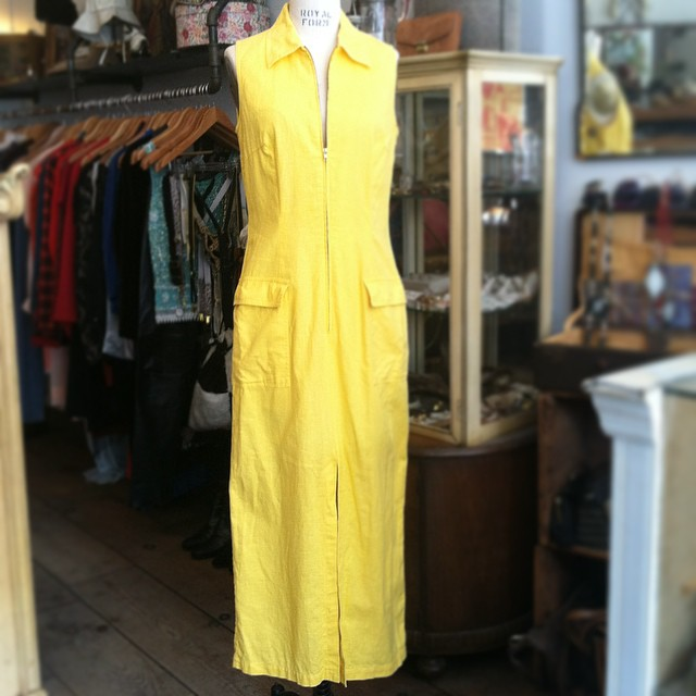 Celebrating the ☀️ (Finally!) #Vintage #1990s dress by #NewPortNews size S/M $70  (at Antoinette)