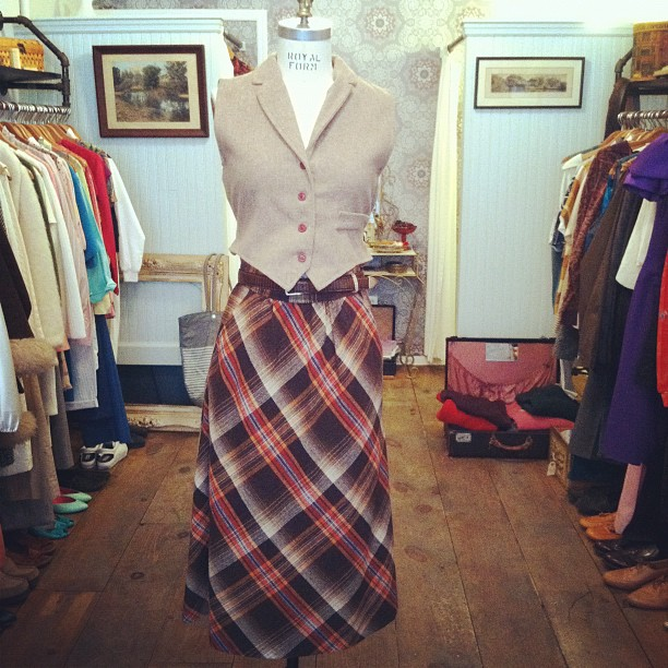 The perfect fall outfit (at Antoinette)