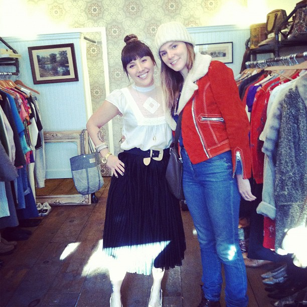 @irbyk from @vintagecrawl stopping by (at Antoinette)