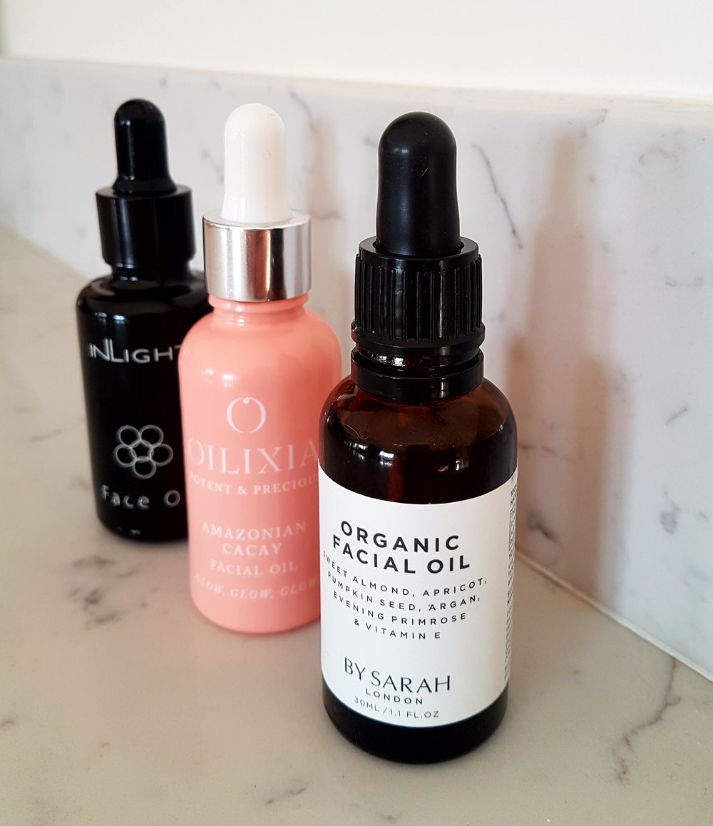 THREE OF THE BEST - NATURAL FACIAL OILS
