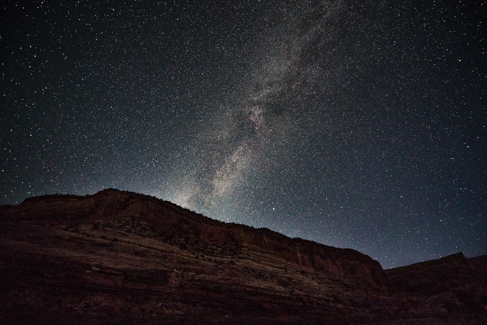 Morning sky before twilight in McInnis Canyons NCA. Photo: Rob Kurtzman